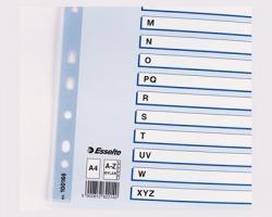 Esselte 100166 Rubrica alfabetica in mylar con indice A-Z A4 - 1pz