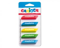 Carioca 42783 ERASER TRIO - Gomma blister 5pz