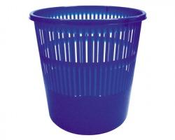 Arda 4119A Cestino gettacarta blu con pareti forate, capacità 12 litri