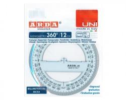 Arda 285SS Goniometro in plastica 360° 12cm