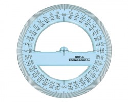 Arda 405SS Tecnoschool goniometro 360° 12cm