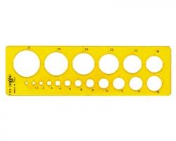 Arda 7128 Maschera per cerchi con smusso 1/30mm