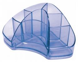 Arda TR7121BL Multipot portacancelleria colore azzurro trasparente