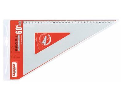 5a2b7a3939 Arda 18132 Profil Squadra in alluminio 60° 30cm - 1pz - OFBA srl