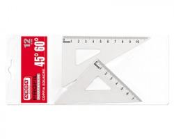 Arda 80312 Profil coppia squadre in alluminio 60° e 45° 12cm - 1pz