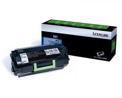 Lexmark 52D2000 Toner nero return program