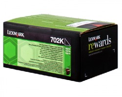Lexmark 70C20K0 Toner nero return program