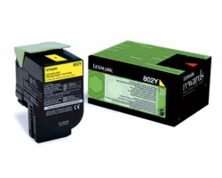 Lexmark 80C20Y0 Toner giallo return program