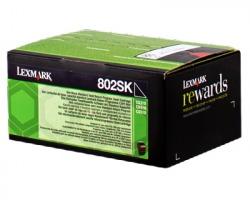 Lexmark 80C2SK0 Toner nero return program