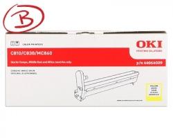 Oki 44064009 Drum giallo originale (Scatola Tipo B)