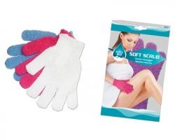 Guanto massaggio bagno - soft scrub - 1pz