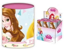 Disney Principesse Portapenne in latta