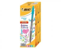 Bic 895793 Penna cristal fashion colours, a sfera, 20pz