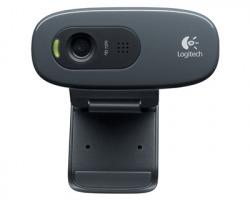 Logitech C270 Webcam C270 HD USB, Colore nero (960-001063)