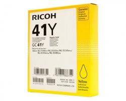 Ricoh GC41Y Cartuccia gel originale giallo bassa capacità 600 copie