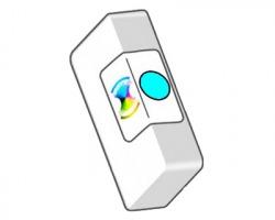 Epson T1282 Cartuccia inkjet ciano compatibile (C13T12824010)