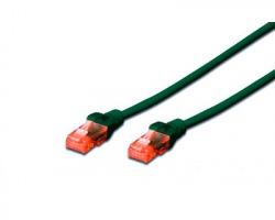 Cavo di rete patch UTP Cat.5e 5 mt, colore verde