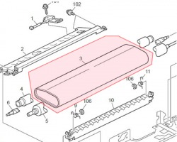 Ricoh B2384070 Fuser belt originale