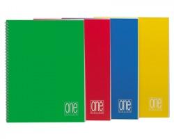 Blasetti 1142 One color - Quaderno spiralato A4 60 fogli con rigatura 4MM conf. 5pz