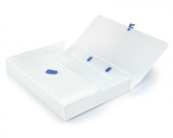 Brefiocart 020M4004 Valigetta polionda bianca 27x38x8cm - 1pz