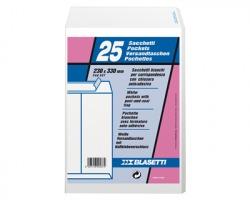 Blasetti 537 Self 80 sacchi formato 23ccmx33cm in carta bianca uso mano 80gr 25pz