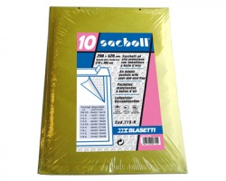 Blasetti 715 Sacboll h sacchetto avana a bolle 29cmx42cm, interno 25cmx39cm - conf.10pz