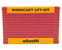 "Olivetti 80673 Nastro originale ""Lift Off"" ""Wordcart"""