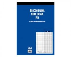 Scatto SC-4402 Blocco prima nota cassa-IVA in duplice copia 23 x 30cm, 50fogli - 1pz