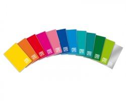 Blasetti 1410 One color - Maxi quaderno a punto metallico c/rigatura 4MM - conf.10pz