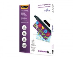 Fellowes 5306207 Enhance - Pouches in poliestere A3 spessore 80my 100 pz