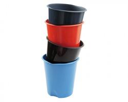 Fellowes E020NE Cestino gettacarta nero in plastica, capacità 16.5 litri