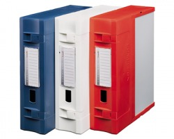 Fellowes E600BN Combi box scatola archivio componibile d. 9cm - blu