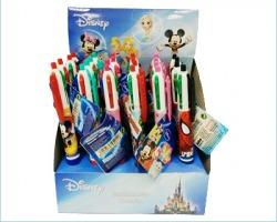 Disney Penna a 4 colori in espositore da banco, 24pz, soggetti assortiti
