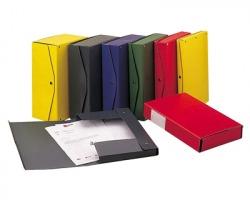 Rexel 00023904 Project scatola archivio dorso 10cm 5 pz - blu