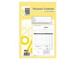 Edipro E5275CN Blocco ricevuta sanitaria 50 pagine per 2 copie, autoricalcante - conf. 10pz