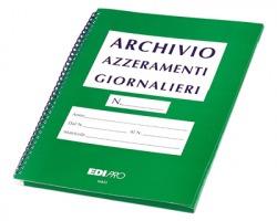 Edipro E6833 Cartella archivio azzeramenti giornalieri 12spazi per 13pagine conf. 10pz