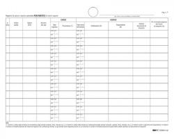Edipro E2884/1 Registro carico/scarico ovini e caprini 23 pg numerate