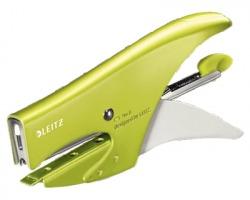 Leitz 55472064 Wow Cucitrice a pinza in metallo 15ff punti 6/4 verde - 1pz