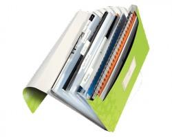 Leitz 45890064 Wow archivio a soffietto con 6 scomparti - verde