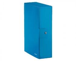 Leitz 39680036 Wow scatola per archivio dorso 10cm 5pz - blu