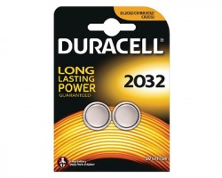 Duracell CR2032/DL2032 batteria al litio 3V blister da 2pz