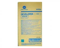 Konica Minolta A04P900 Developer originale ciano (DV610C)