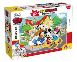 Lisciani Maxipuzzle double-face 60pz Disney Mickey Mouse & Friends, 3+