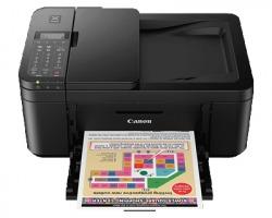 Canon PIXMA TR4550 Multifunzione inkjet a colori A4 con fax, WiFi, f/r automatico, colore nero (2984C009)