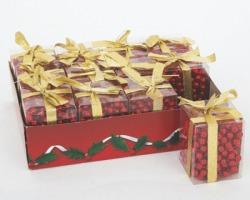 Collana decorazione color rosso 8mm x 3mt, in scatola pvc