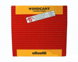 "Olivetti 80670 Nastro originale nero ""Wordcart Correctable"""