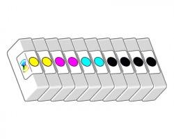 Epson T0711/2/3/4 Kit 1x10 Cartucce inkjet nero + colore compatibili