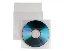 Sei 430101 buste Insert porta cd/dvd in PP liscio 12.5x12cm - 25pz