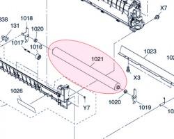 Panasonic DZLA000362 Rullo fusore inferiore PFA compatibile