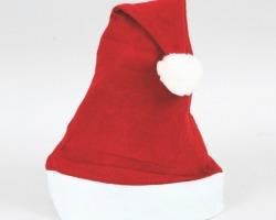 Cappello da Babbo Natale da 30cm